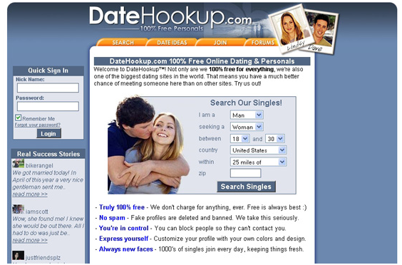 free php dating website